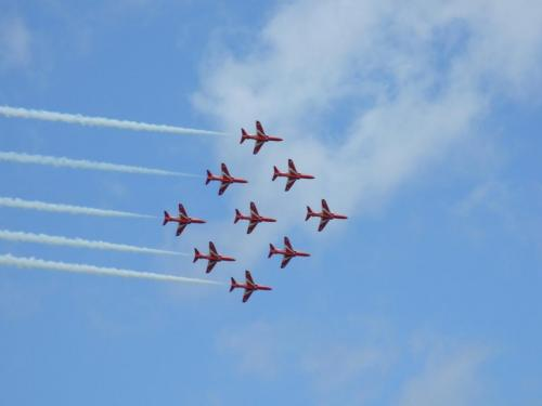 RAF Red Arrows, RIAT 2009