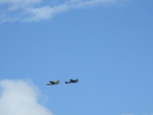 Spitfire and Mustang, RIAT 2011