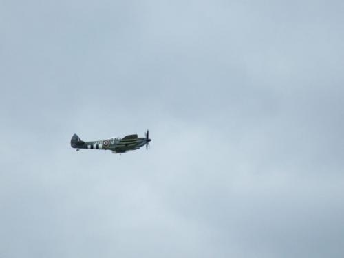 """Clipped Wing"" Spitfire, Biggin Hill 2014"