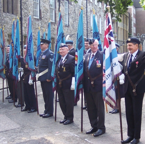 Parading the Branch Standard